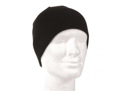 Čepice MIL-TEC pletená Beanie Černá