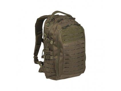 "Batoh MIL-TEC Mission pack ""LASER CUT"" 20l Olive"