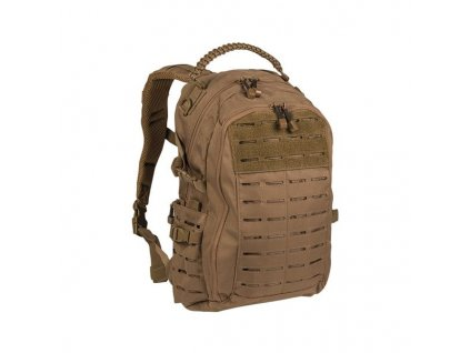 "Batoh MIL-TEC Mission pack ""LASER CUT"" 20l Dark Coyote"