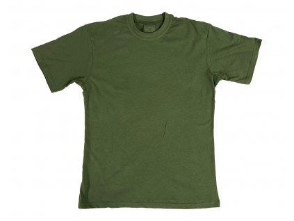 Tricko detske army styl olive
