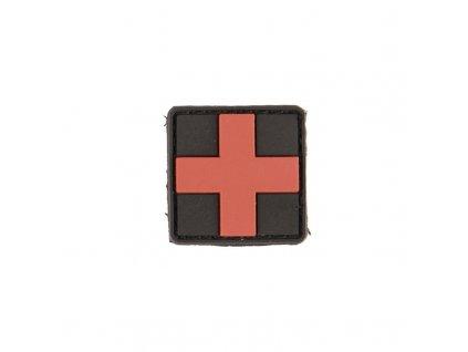 Nášivka MIL-TEC Medic 3D černá Velcro - malá