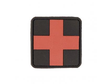 Nášivka MIL-TEC Medic 3D černá Velcro - velká