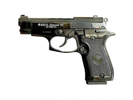 Plynová pistole Ekol Special 99 Černá cal. 9 mm P.A.