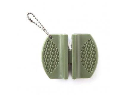 Brousek na nože MIL-TEC BLOCK Olive
