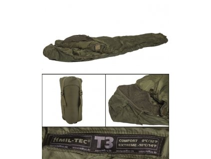 Spací pytel MIL-TEC Tactical 3 Olive