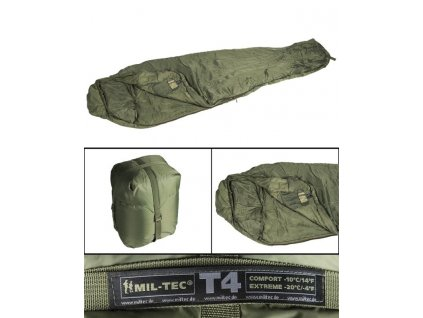 Spací pytel MIL-TEC Tactical 4 Olive