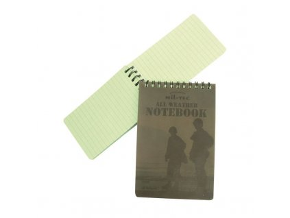 Voděodolný zápisník MIL-TEC - menší varianta