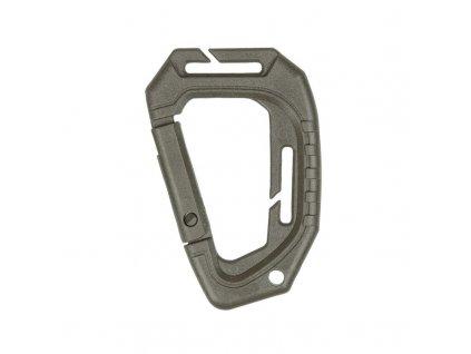 Karabina MIL-TEC Tactical MOLLE Olive 9,3 cm - set 2ks
