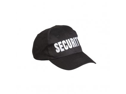 Čepice MIL-TEC Baseball Security Černá