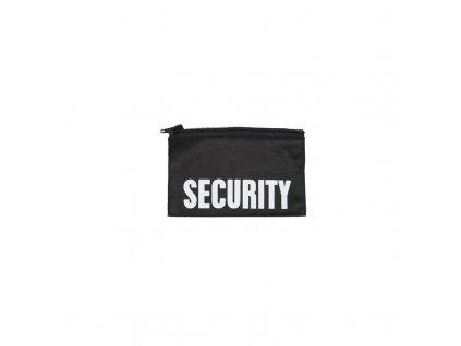 Přední nášivka Security pro bundu ZIP-OFF