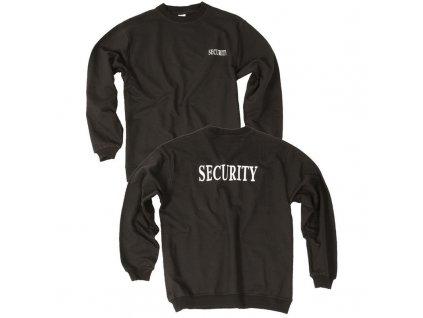 Mikina MIL-TEC Security Černá