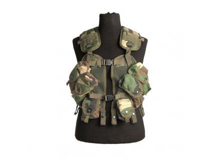 Taktická vesta US Load Bearing Woodland