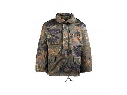 Kabát dětský MIL TEC M65 s vložkou Flecktarn