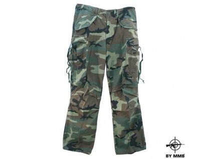 Kalhoty MMB US M65 Woodland