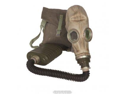 Plynová maska Wojsko Polskie MP-3 s obalem a filtrem