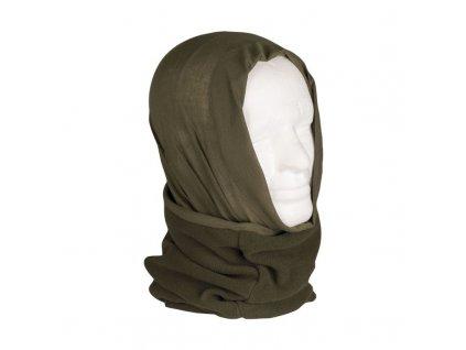Multifunkční šátek MIL-TEC FLEECE Olive