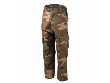 Kalhoty dětské MIL TEC BDU Woodland