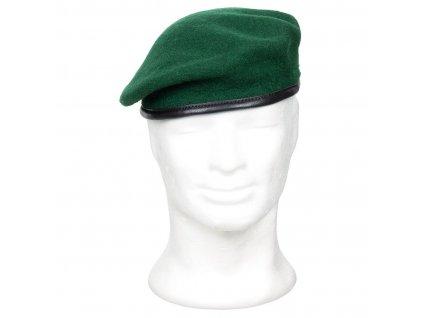 Baret Max-Fuchs COMMANDO Tmavě zelený