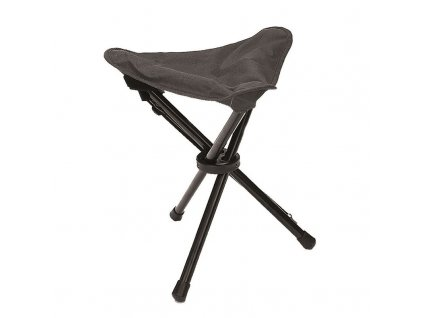 Skládací stolička MIL-TEC - trojnožka Black