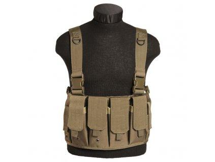 """Taktická vesta MIL-TEC """"bandalír"""" MAG CARRIER Coyote"""