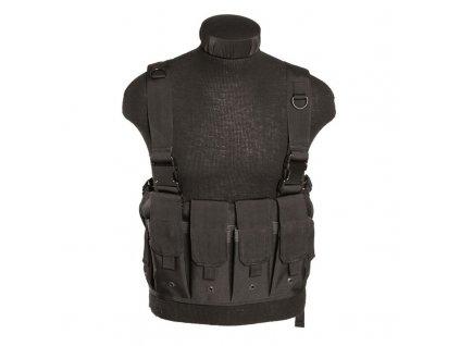 """Taktická vesta """"bandalír"""" MAG CARRIER Black"""