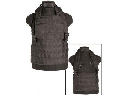 "Taktická vesta MIL-TEC ""bandalír"" MOLLE EXPANDABLE Black"