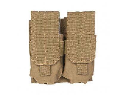 Sumka MIL-TEC dvojitá MOLLE M4/M16 Coyote