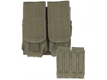 Sumka MIL-TEC dvojitá MOLLE M4/M16 Olive