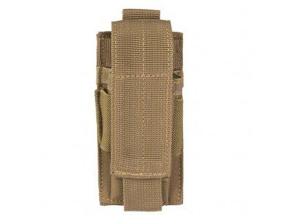 Sumka MIL-TEC na pistolový zásobník MOLLE Coyote