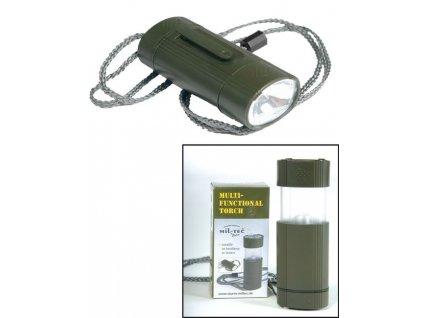 Svítilna MIL-TEC multifunkční Olive