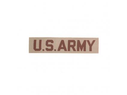 """Nášivka MIL-TEC """"US ARMY"""" Desert"""