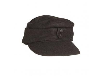 Polní čepice MIL-TEC M43 Černá - repro