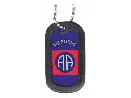 Identifikační známka E.C. 82nd Airborne Division/set
