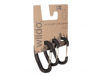 Karabina WILDO® Black - set 3ks