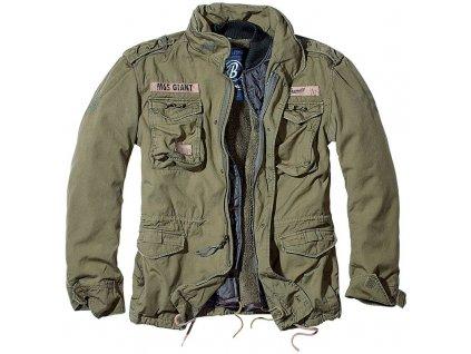 Kabát Brandit M65 VINTAGE GIANT Olive