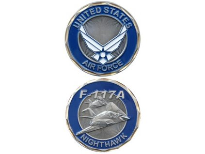Pamětní mince E.C. Air Force F-117A
