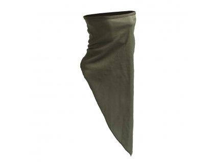 multifunkcni satek scarf face mil tec olive