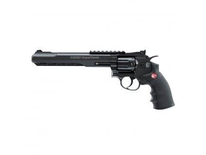airsoft revolver ruger superhawk black 8 palcu