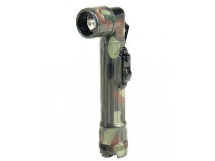 Baterka MIL-TEC US malá LED Flecktarn