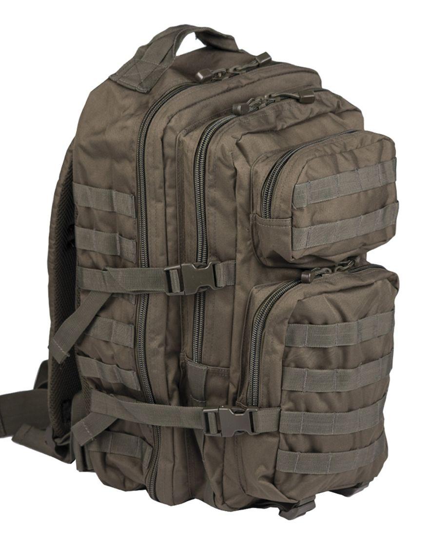 MIL-TEC Batoh US Assault Pack LG Olivový 36l