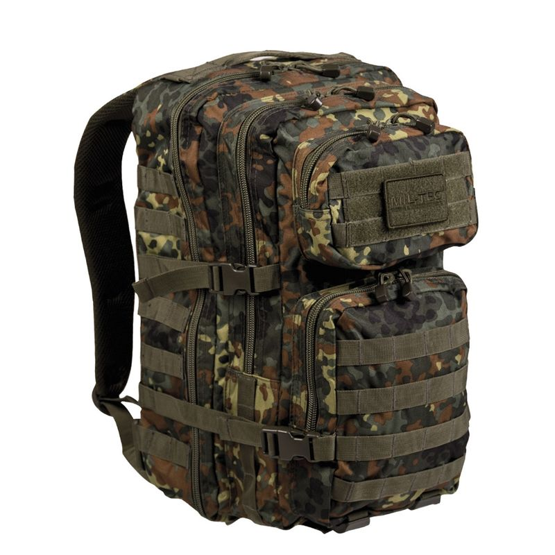 MIL-TEC Batoh US Assault Pack LG Flecktarn 36l