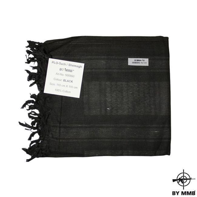 MMB Šátek SHEMAGH Černá/Černá