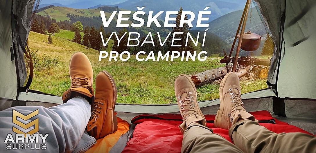 vybavení pro camping