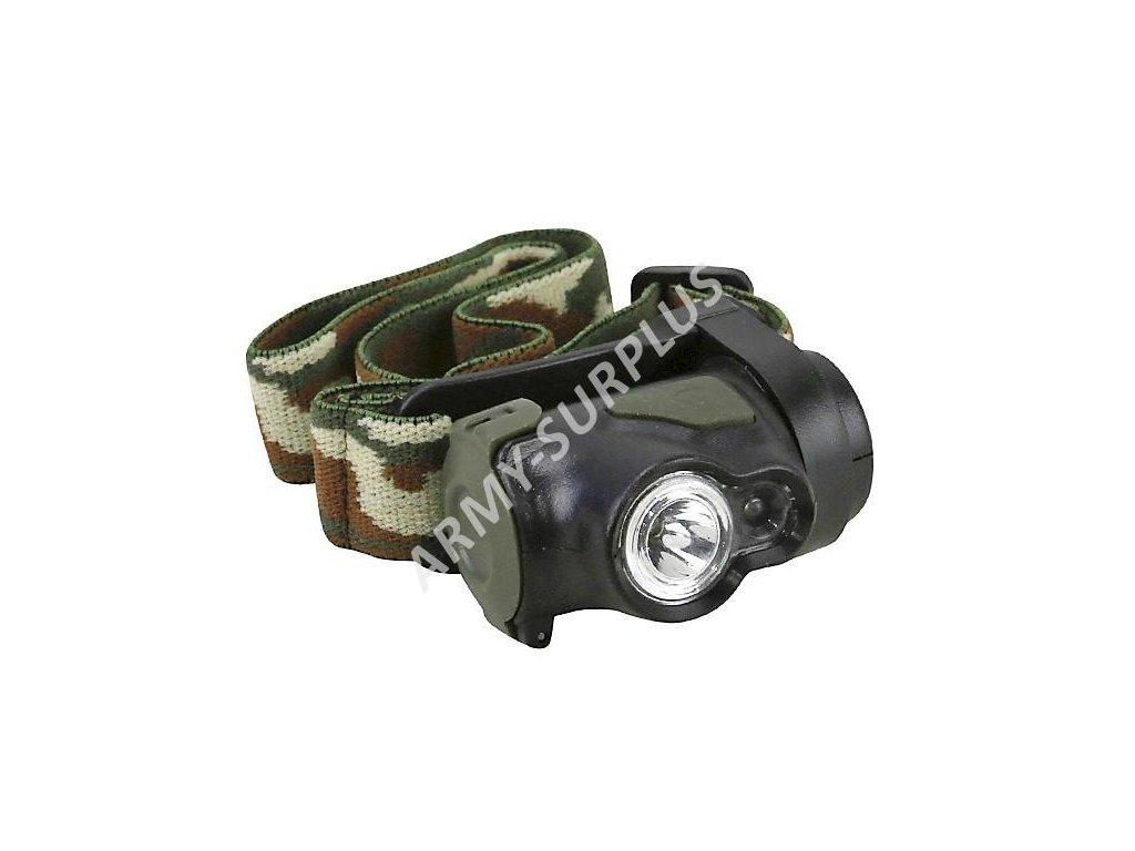 Baterka čelovka Predator CREE LED 3W Kombat 110 lumens