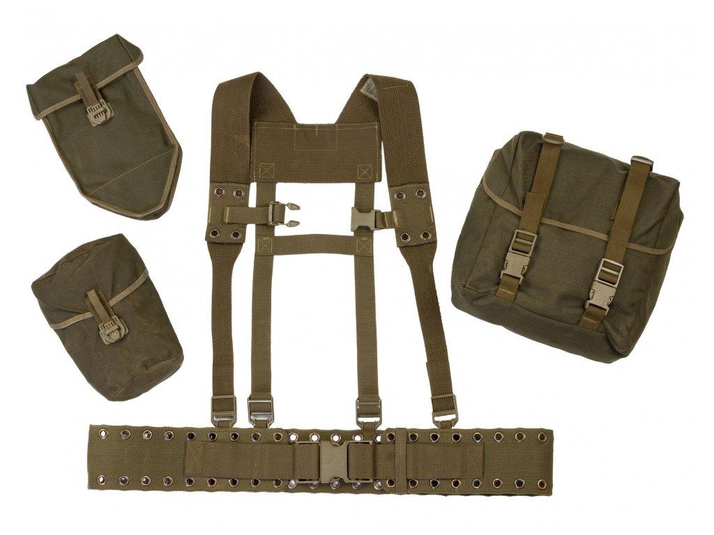 Nosný systém BW (Bundeswehr) oliv použitý 5-dílný