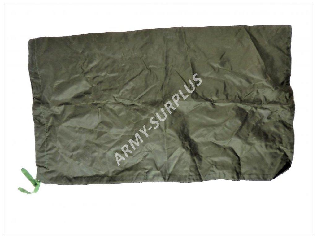 Transportní vak do batohu nepromokavý Velká Británie oliv 60x36cm