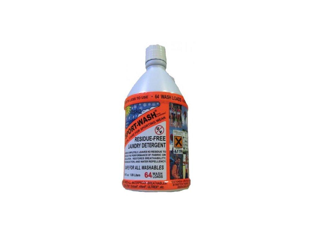 Atsko Sport wash láhev 1,89L prací ( impregnační ) prostředek 64 pracích dávek