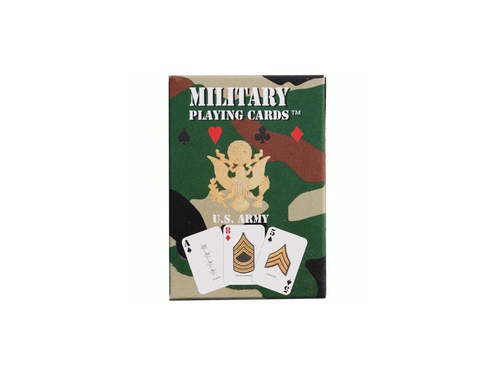Hrací karty US ARMY