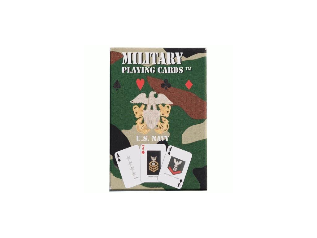 Hrací karty US NAVY