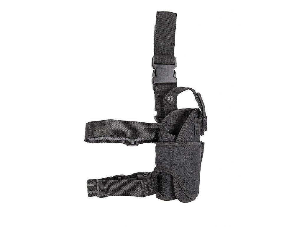 Pouzdro stehenní Miltec černé M9, Glock 17, USP ...